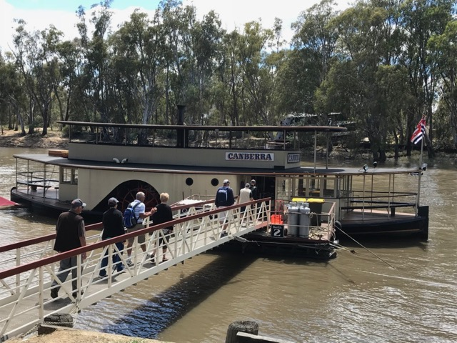PS Canberra Murray river